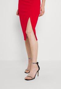 WAL G. - JAYNE LEE HALTER NECK DRESS - Cocktail dress / Party dress - red - 4