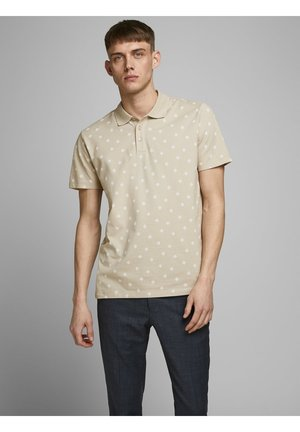 JPRTRISTAN BLA - Polo - oxford tan