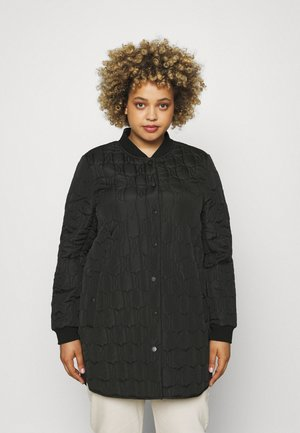 VIDILARA QUILTED - Short coat - black
