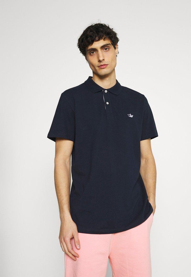 Selected Homme - SLHNATHAN - Polo shirt - navy blazer