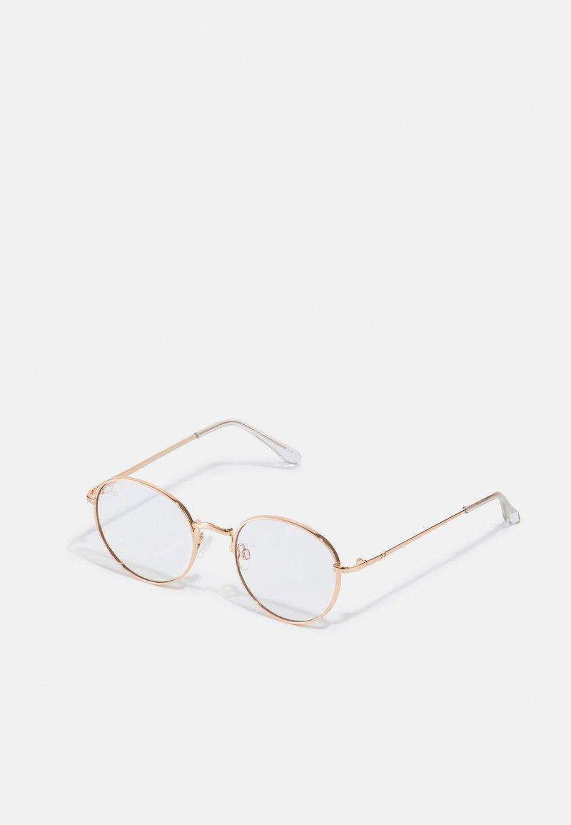 Jeepers Peepers - UNISEX - Brýle s filtrem modrého světla - gold-coloured