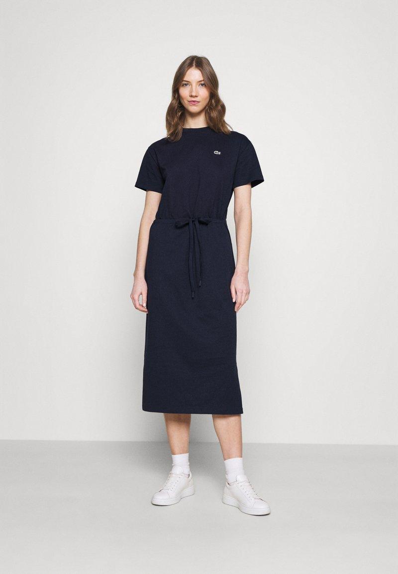 Lacoste - Jersey dress - navy blue