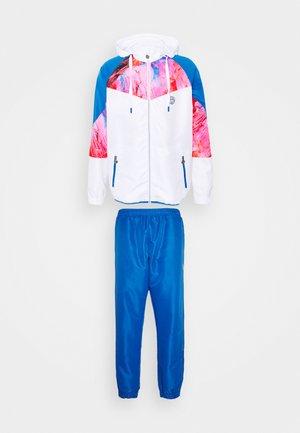 KAFIL TECH TRACKSUIT - Survêtement - blue/pink