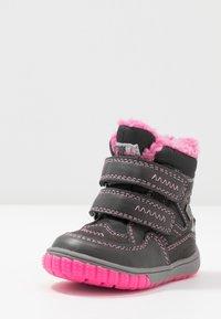 Lurchi - JAUFEN TEX - Winter boots - grey/pink - 2