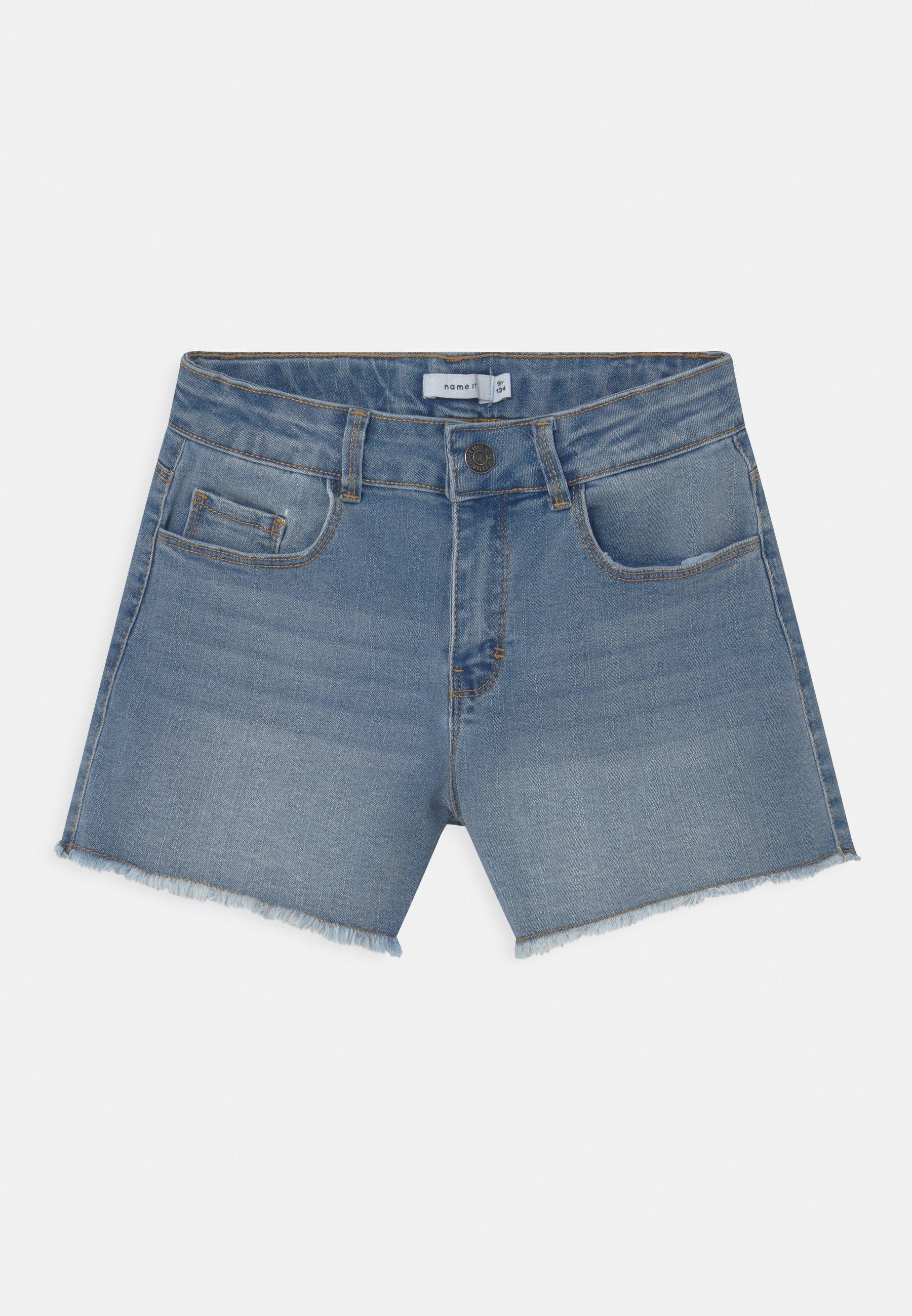Kids NKFRANDI MOM  - Denim shorts