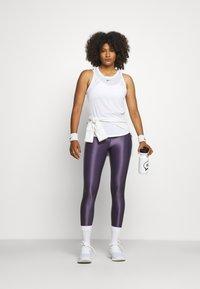 Nike Performance - ONE TANK - Topper - white/black - 1