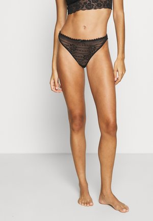 PANAMA TANGA - String - black