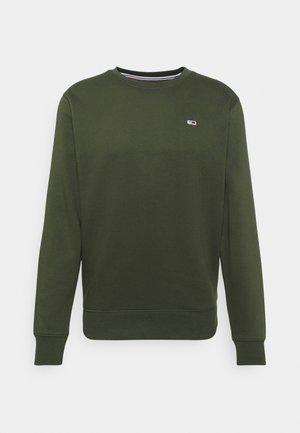 REGULAR C NECK - Sweater - dark olive