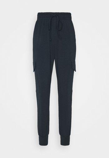 KASIGGI LINDA PANTS  - Cargo trousers - midnight marine