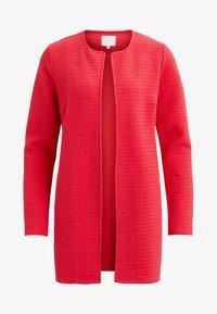 Vila - VINAJA NEW LONG JACKET - Summer jacket - red - 3