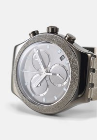Swatch - SILVER EXPLOSION - Chronograph watch - silver-coloured - 3