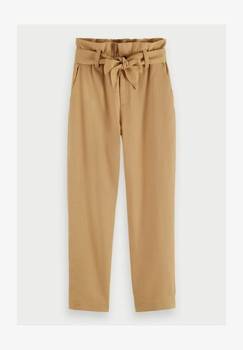 Trousers - straw