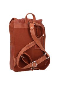 Cowboysbag - BACK TO SCHOOL NOVA RUCKSACK 38 CM LAPTOPFACH - Sac bandoulière - cognac - 1