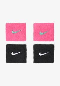 pink pow/emerald glow/black/white
