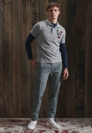 Pantaloni cargo - naval grey