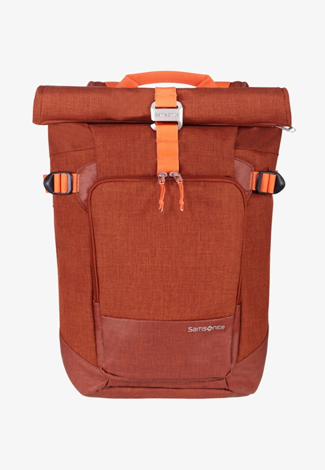 ZIPROLL - Rucksack - burnt orange