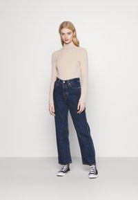 Levi's® - RIBCAGE STRAIGHT ANKLE - Jeans straight leg - noe dark mineral - 1