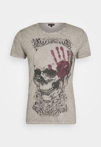 Key Largo - Print T-shirt - silver - 4