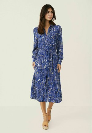 TRUEPW  - Shirt dress - paisley flower, deep ultramari