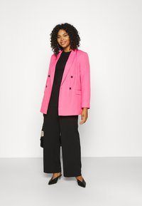 Simply Be - DOUBLE BREASTED BLAZER - Blazer - hot pink - 1
