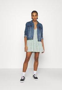Hollister Co. - BARE FEMME SHORT DRESS - Kjole - mint - 1