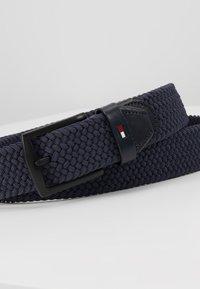 Tommy Hilfiger - DENTON ELASTIC - Braided belt - blue - 4
