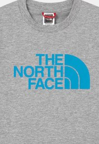 The North Face - YOUTH EASY UNISEX - Print T-shirt - grey/dark blue
