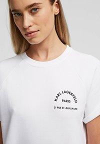 KARL LAGERFELD - Denní šaty - white - 3