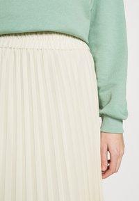 Monki - LAURA PLISSÉ SKIRT - A-line skirt - beige - 5