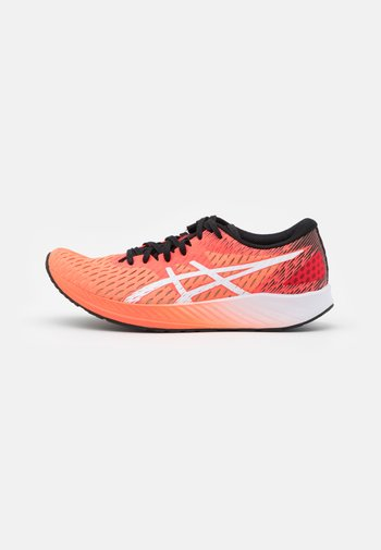 HYPER SPEED - Competition running shoes - sunrise red/white