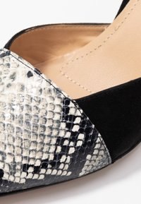 PERLATO - Classic heels - grigio/noir - 2