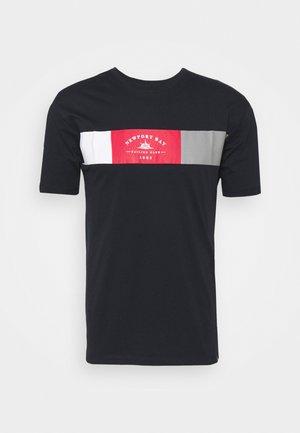 VIPER - Print T-shirt - navy