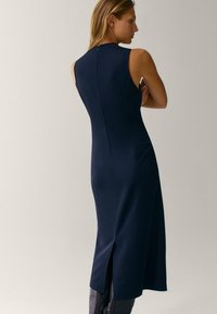 Massimo Dutti - Robe fourreau - dark blue - 1