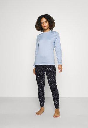 NIGHT LOVERS SET - Pyjama - dark lapis blue
