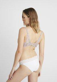 Anna Field - 3 PACK - T-skjorte-BH - latte/black/white - 3