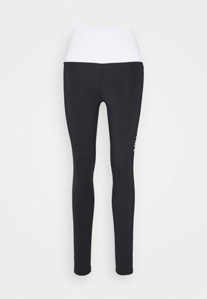 CONTRAST LEGGING - Leggings - black