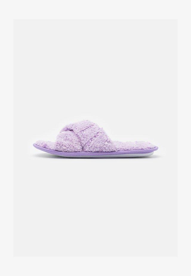 Pantuflas - lilac