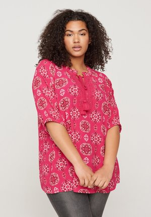 Blouse - pink indian