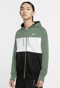 Nike Sportswear - Sudadera con cremallera - silver pine/white/black/white - 0