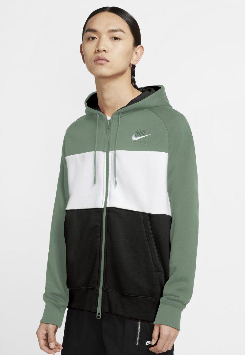 Nike Sportswear - Sudadera con cremallera - silver pine/white/black/white