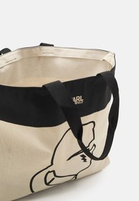 KARL LAGERFELD - EXCLUSIVE IKONIK WITH HANDLES - Cabas - off-white - 3