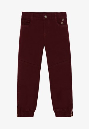 RED - Trousers - purple