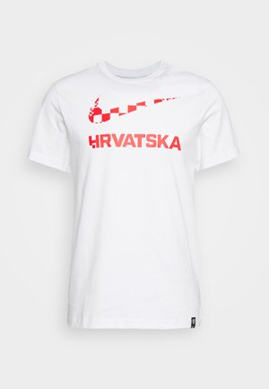 KROATIEN CRO TEE GROUND - National team wear - white