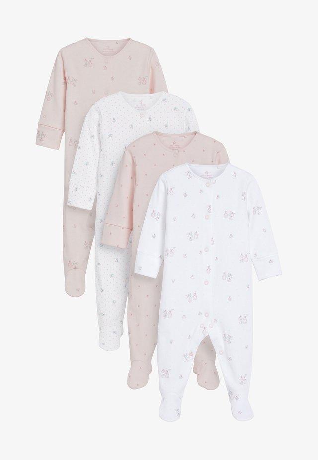 4 PACK BUNNY  - Pijama - pink