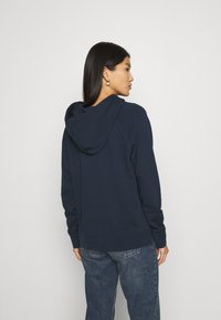 Marc O'Polo - RAGLAN SLEEVE HOODED - Hoodie - dark night - 2