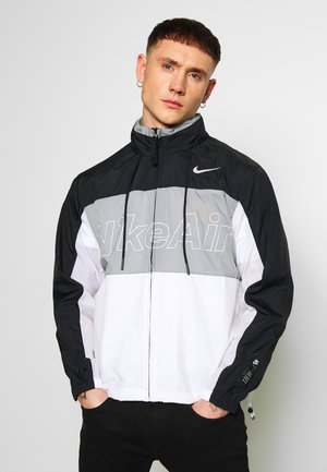 NSW NIKE AIR  - Outdoor jacket - black/particle grey/white