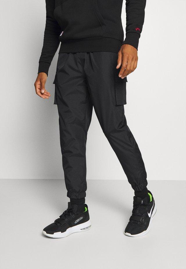 CARGO TRACK PANT - Pantaloni sportivi - black