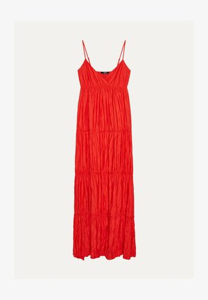 MIT TRÄGERN - Maxi dress - red
