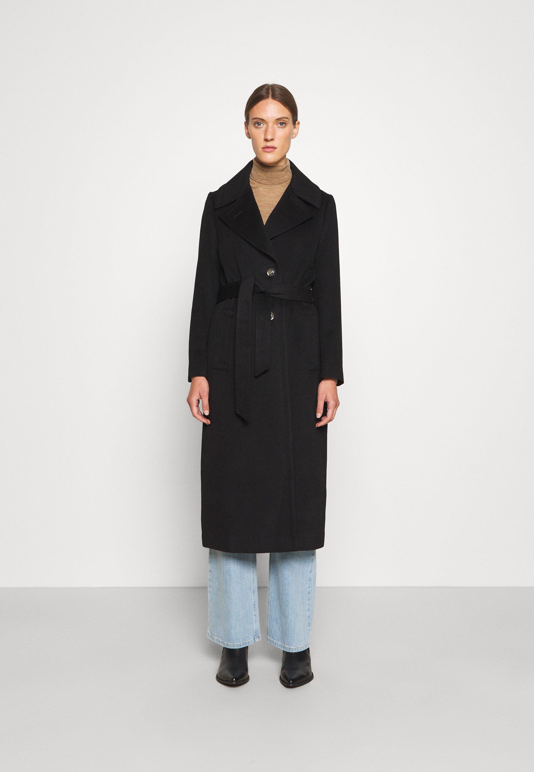 Women COAT CLARETA BELT - Classic coat