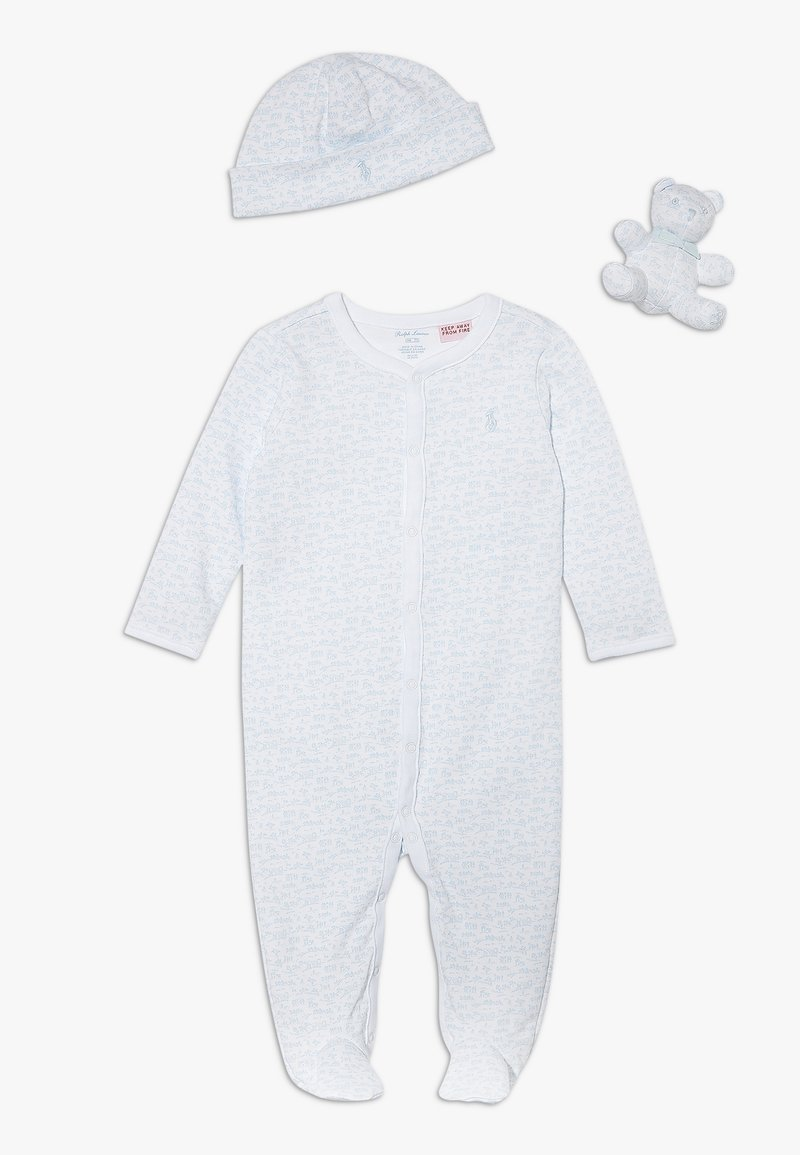 Polo Ralph Lauren - ACCESSORIES-GIFT BOX BABY SET - Cadeau de naissance - white